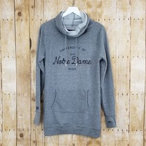 Notre Dame Cowl Neck Sweater Dress Jansport (M)